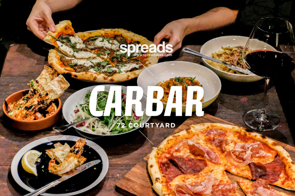 Food at Carbar Bangkok