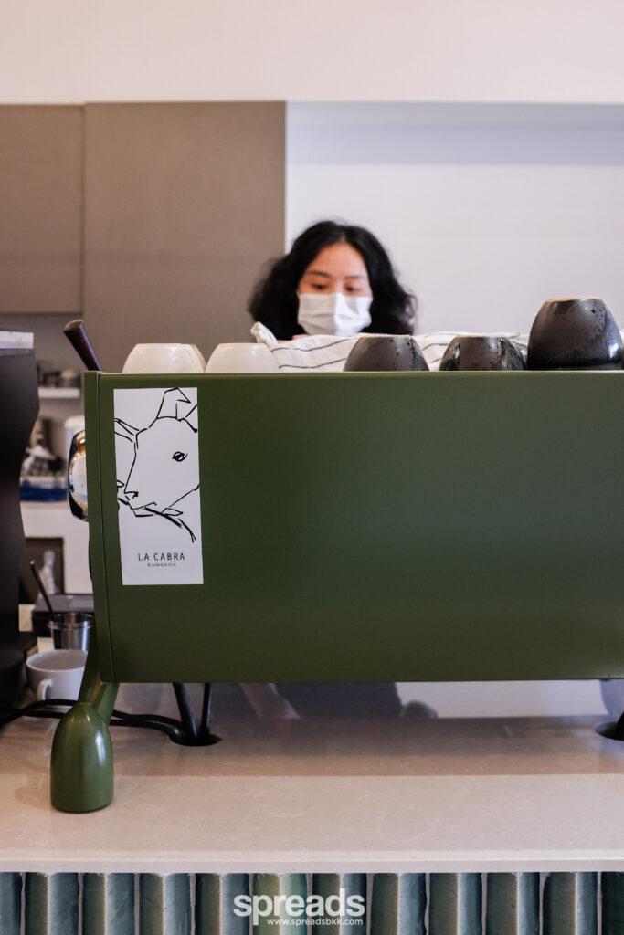 la cabra green espresso machine