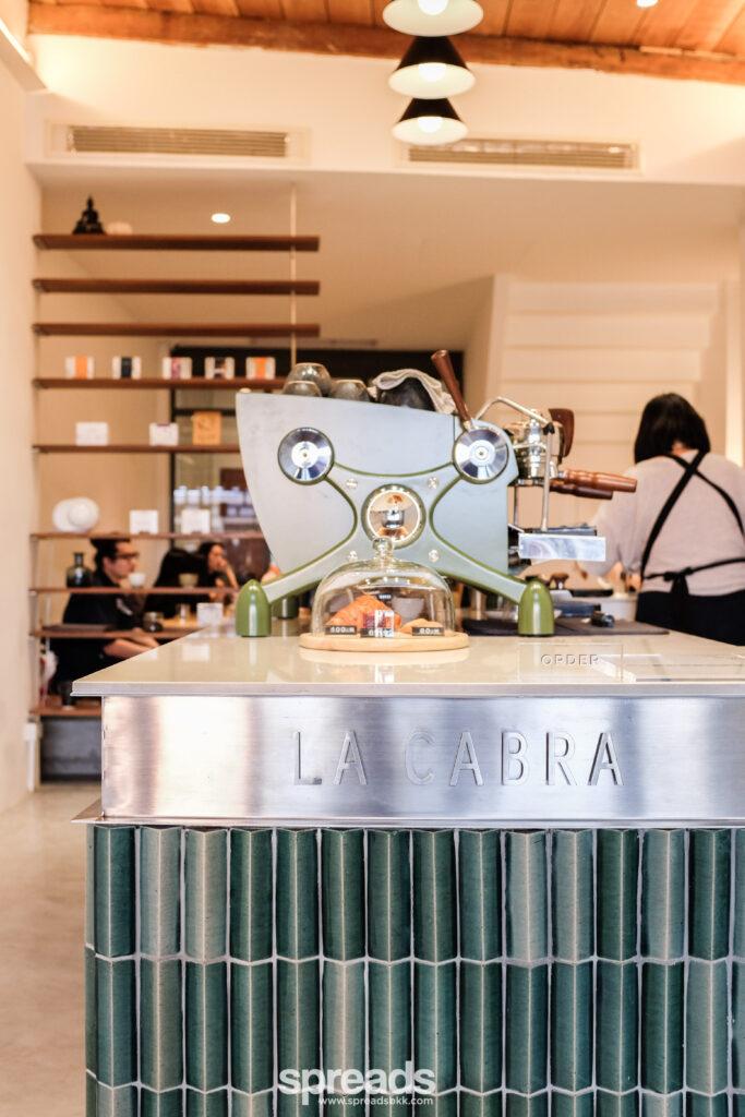 la cabra coffee counter