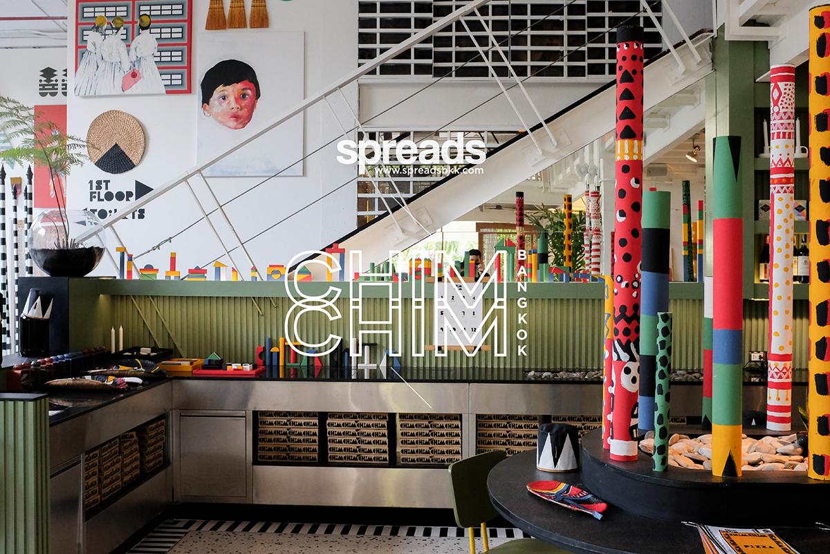 Chim Chim Bangkok interior