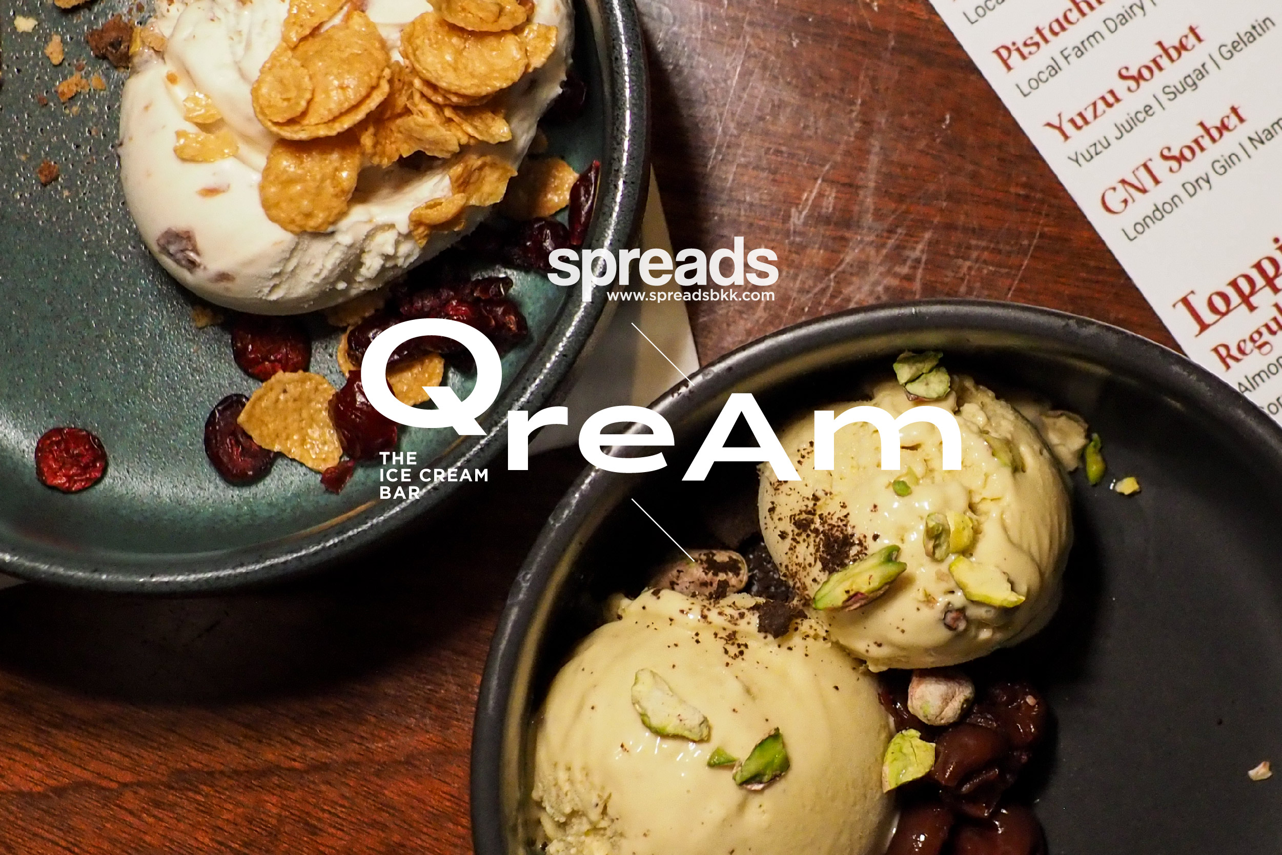 ice cream at Qream by Q&A